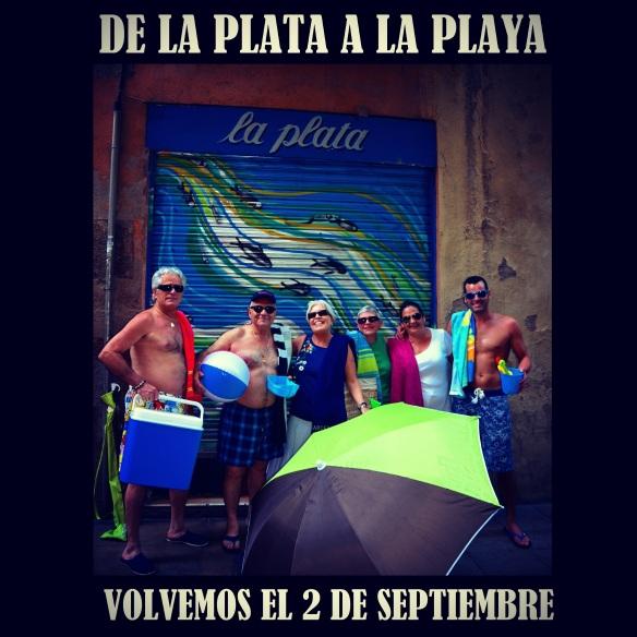 El bar La Plata, referente de las tapas en el barrio Gótico de Barcelona, se va de vacaciones. Cerramos este domingo 3 de agosto y volvemos el 2 de septiembre. ¡Disfrutad del verano! La Plata, reference of tapas in the Gothic Quarter of Barcelona, goes on vacation. We'll close this sunday 3th of August and we'll come back the 3th of september. Enjoy the summer!