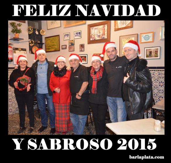 Feliz Navidad y suculento 2015.