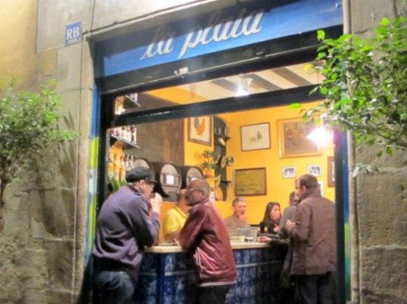 El Bar La Plata en japonés