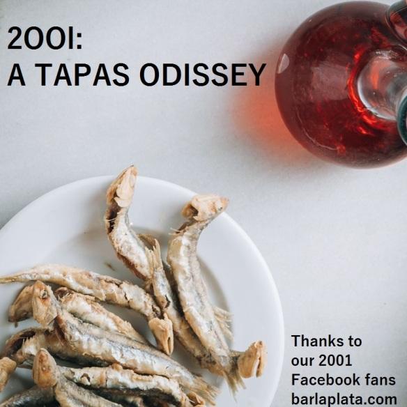 2001, una odisea de las tapas.