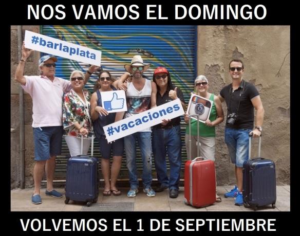 Las tapas del Bar La Plata se van de vacaciones. Fotón de Marta López (acontrallum.es)