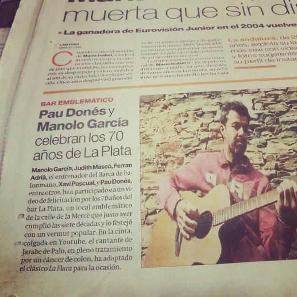 El vídeo del 70 aniversario del bar La Plata, en El Periódico.